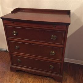 Small antique Brickwede buffet. Drawer for silverware and linens.
