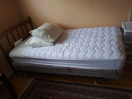 Twin Bed with New Mattress