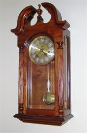 """""""SLIGH"""" CHIME WALL CLOCK WITH FRANZ HEMLE MOVEMENT"""