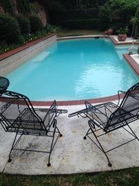 Matching lounge chairs