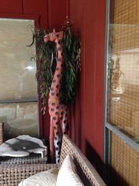 Extra tall giraffe