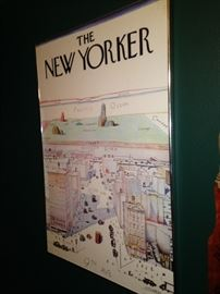 """""""The New Yorker"""" poster"""
