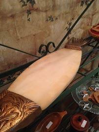 Fish shaped cutting board