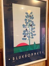 Bluebonnet art