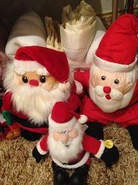 Fun little Santas