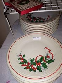Fiesta Christmas dishes