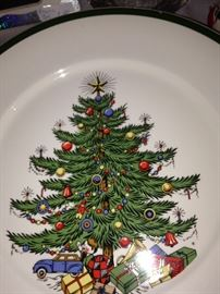 """Cuthbertson """"Original Christmas Tree"""" dishes - made in England"""