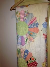 Colorful quilt (as is)