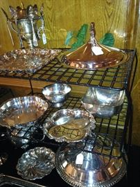 Additional silver plate
