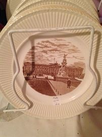 """English Wedgwood """"Old London Views"""" - plates of historic locations"""