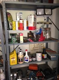 Oil and other car supplies