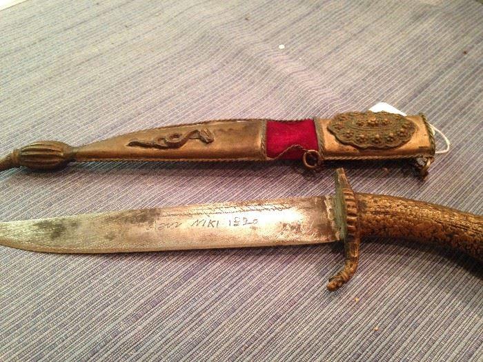 Unique knife