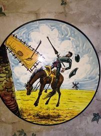 Don Quixote type plates