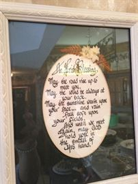 """An Irish Blessing - """"May the road rise up to meet you . . ."""""""