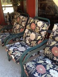 More matching chairs