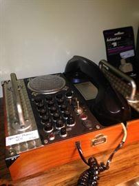 Vintage speaker phone