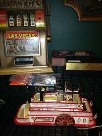 Small slot machine replica