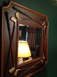 Golf theme mirror