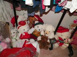 Lots and lots of Christmas bears