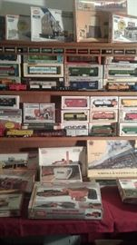 Tyco HO cars and model kits and accessories-dozens of them and in boxes, some still sealed