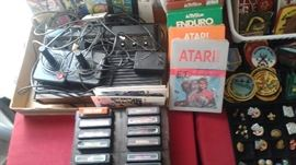 ATARI including lots of games-packaged, some sealed and all with instructions!