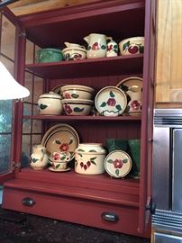 Large Collection if Watts Ware Pottery