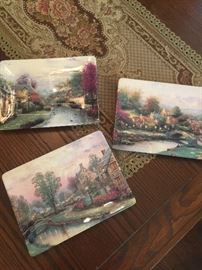 Thomas Kinkade collectors plates