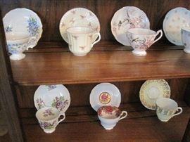 English Tea Cups.