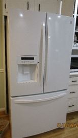 french doors freezer on the bottom refrigerator Kenmore