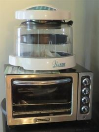 Nuwave cooker, KitchenAid toaster oven