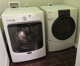 Maytag washer, Kenmore Elite dryer