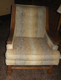 ranch oak trim chair   BUY IT NOW  $  165.00