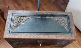 George Zee vintage low table chest