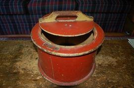 Antique cake box