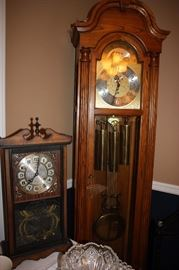 Grandfather clock/ wall clock