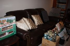 Newer sofa with 2 recliners