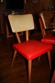 Vintage chairs, one of five (Meier & Pohlmann Furniture)