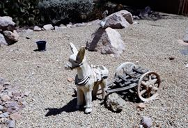 Yard art for sale.