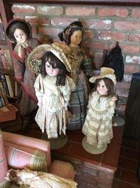 Bisque dolls-German & EnglishABG, Alt, Beck & Gottschalk Dolls 1854-1930 German,Schoenau & Hoffmeister Dolls 1901-1953 German