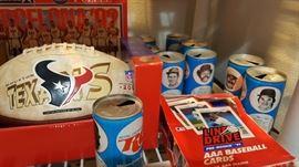 Sports collectibles & memoribilia