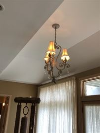 Entry hall chandelier