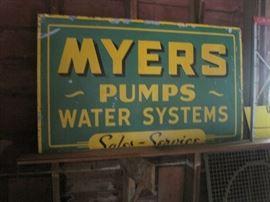 tin Myers sign
