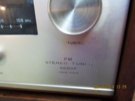 sony stereo tuner 5000 F