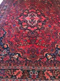 Signed Persian Bijar Rug Carpet Handmade 12x9 Room Size