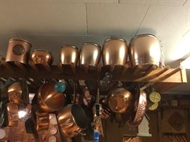 Lots of collectible brass items