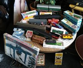 Assorted Trains