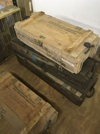 Military Ammo boxes