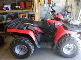 Polaris Sportsman 700 EFI ATV, only 47 miles on it, kept at the vacation house. Like new (2007), never used off road, just plowing the driveway. With Ramps included. Also available: Snow Plow, Winch, Trailer Hitch.