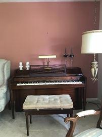 Baldwin acrossonic piano