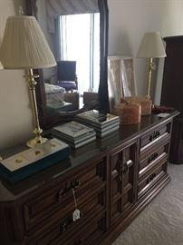 Drexel Dresser and  Mirror